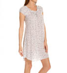 Dots Luxe Knit Cap Sleeve Short Gown Image
