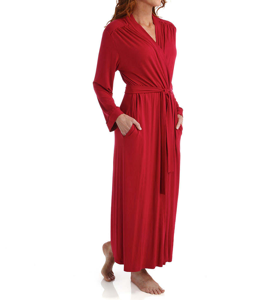 Oscar De La Renta Luxe Knit Robe 6851062 - Oscar De La Renta Sleepwear