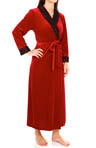 Oscar De La Renta Velvet Night Long Robe 685652