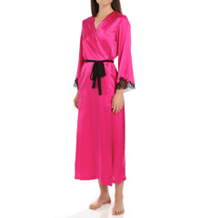 Oscar De La Renta Blush Long Robe 685760