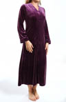 Zahara Nights Velvet Zip Caftan