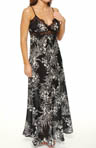 Oscar De La Renta Twilight Garden Long Gown 688581