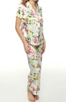 Oscar De La Renta Botanical Garden Pajama Set 689515