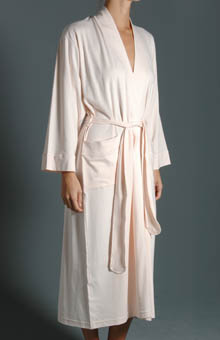 P-Jamas Butterknits Long Wrap Robe