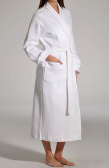 P-Jamas Quilted Basketweave Robe
