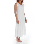 P-Jamas Ankle Length Sleeveless Butterknits Nightgown 365660