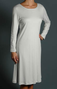 P-Jamas Butterknit Long Sleeve Gown