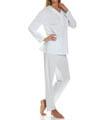 P-Jamas Leopard Print Jersey Pajama 390405