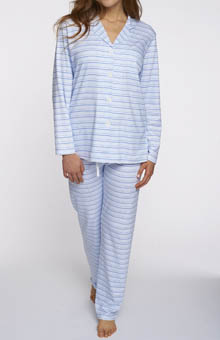 P-Jamas Our Favorite Pajamas Classic Stripe PJ Set
