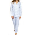 P-Jamas Our Favorite Pajamas Classic Stripe PJ Set 392506