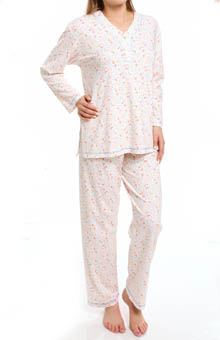 P-Jamas Vivianne Interlock PJ Set 393512