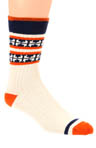 Cream Camp Sock