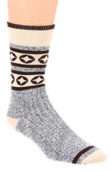 Pact Navy Camp Sock