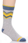 Pact Zig Zag Camp Sock MCSZIG