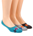 Argyle No See'um Socks - 3 Pack