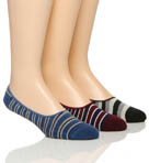 Pact Striped No See'um Socks - 3 Pack MNSST3