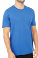 Electric Blue Crew Neck T-Shirt Image