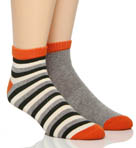 Duffle Bag Shorty Socks - 2 Pack