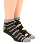 Pact Duffle Bag Fun Shorty Socks - 2 Pack MSHDF2