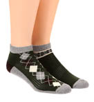 Duffle Bag Fancy Shorty Socks - 2 Pack