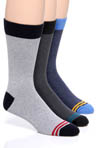 Pact Men's Recycled Sock Bundle - 3 Pack MSKBL2