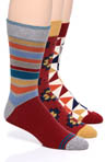 Pact Men's Heritage Crew Sock Bundle MSKBL3
