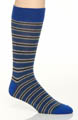 Pact Gravel Stripe Crew Sock MSKGRS