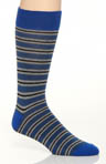 Gravel Stripe Crew Sock