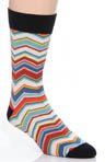 Pact Zig Zag Crew Sock MSKZIG