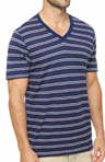 Americana Stripe V-Neck T-Shirt
