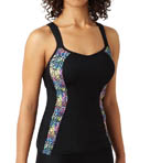 Panache Sports Vest Tank With Built In Bra 7345