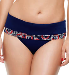 Panache Nancy Folded Swim Bottom SW0777
