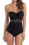 Savannah Padded Bandeau One Piece Swimsuit