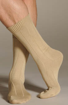 Cotton Casual Socks -Soft 11x1 Rib