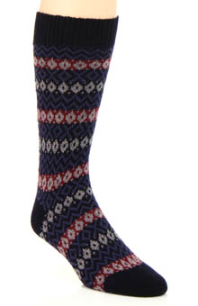 Pantherella Bamburgh New Peruvian Fair Isle Sock