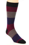 Tate Colour Block Stripe Sock