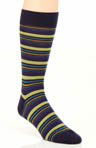 Hayward 4 Colour Varied Stripe Sock