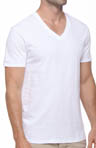 Deep V-Neck T-Shirts - 3 Pack