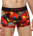 Papi Fiesta Brazilian Brief Allover Print 3 Inch Inseam 626511