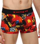 Fiesta Brazilian Brief Allover Print 3 Inch Inseam