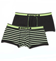 Cotton Stretch Brazilian Trunks - 2 Pack Image