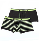 2 Pack Cotton Stretch Brazilian Trunk