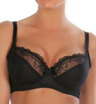 Donna Sheer 3-Part Cup Underwire Bra