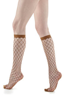 Knee High Fishnet