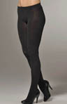 Philippe Matignon Opaque Tights with Glossy Spiral Pattern M114624