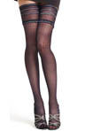 Philippe Matignon Pinstriped Thigh Highs M114716