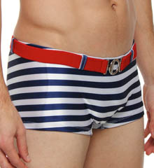 Pistol Pete Nautical Mid-Cut Swim Brief