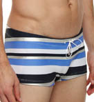Pistol Pete Chrome Mid Cut Swim Trunks 553-356