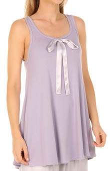 Penelope Tank with Ribbon Tie