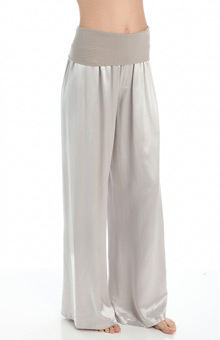 PJ Harlow Tia Long Satin Pant